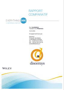 Rapport comparatif DiSC